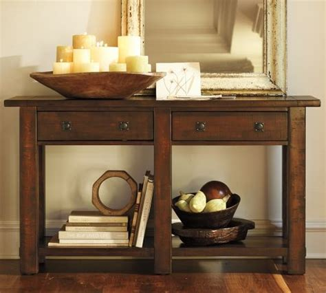 Pottery Barn Me i the whole benchwright collection at pottery barn