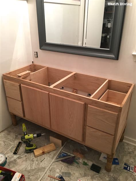 build bathroom vanity cabinet building a diy bathroom vanity part 5 making cabinet doors