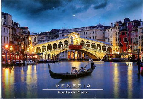 boat lettering venice venezia ponte di rialto remembering letters and postcards