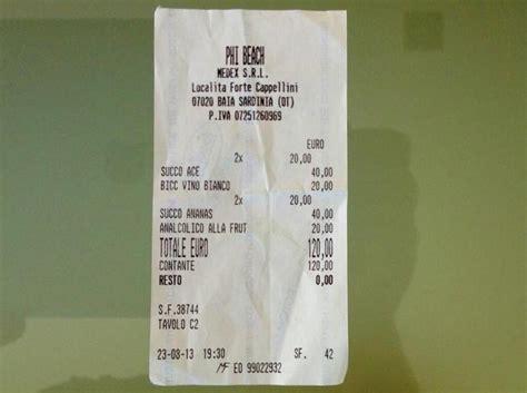 billionaire porto cervo prezzi sardegna 4 succhi di frutta e un bicchiere di vino a 120