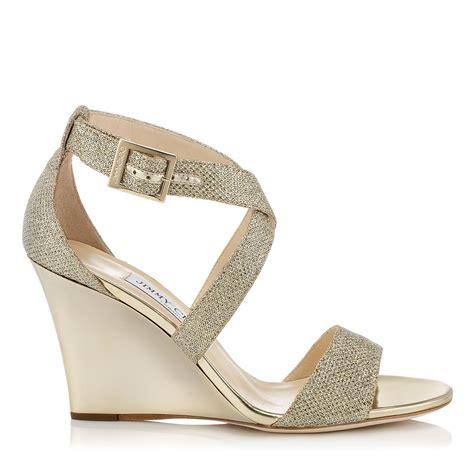 14 Jimmy Choo Shoes by Jimmy Choo Fearne In Gold Lyst