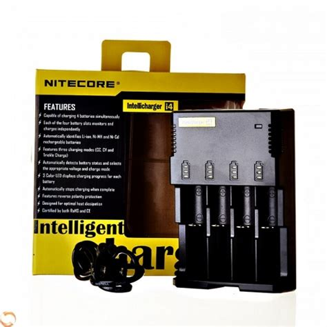 Intellicharger I4 Nitecore Original legend vapor e cigarette superstore premium vape shop