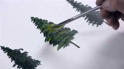 weihnachtsbaum malen acrylmalerei einen tannenbaum malen mit dietmanns