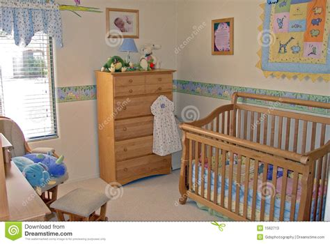 Si Attacca Al Letto Prezzi by Bedroom Baby S Room Stock Image Image Of Crib Guest