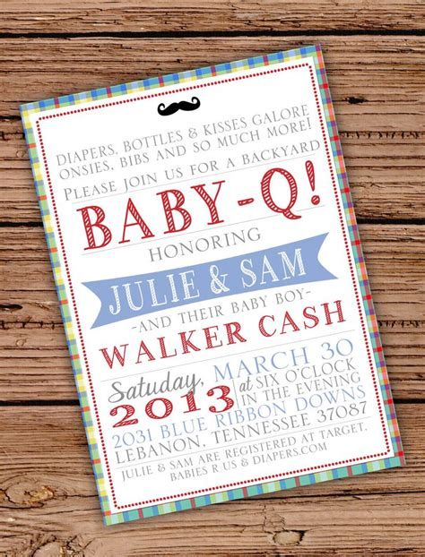 Meet And Greet Baby Shower Ideas by Baby Boy Shower Invitation Baby Q