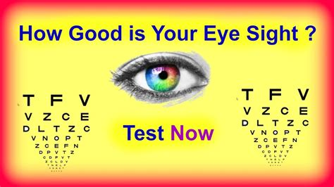 Eye Care What You Should 2 by How Is Your Eye Sight Eye Sight Quiz Take Eye