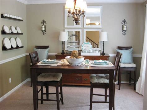 Small Dining Room by How To Make Dining Room Decorating Ideas To Get Your Home