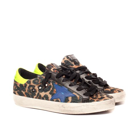 multicolor sneakers golden goose deluxe brand sneakers ss leopard ai 1516 in