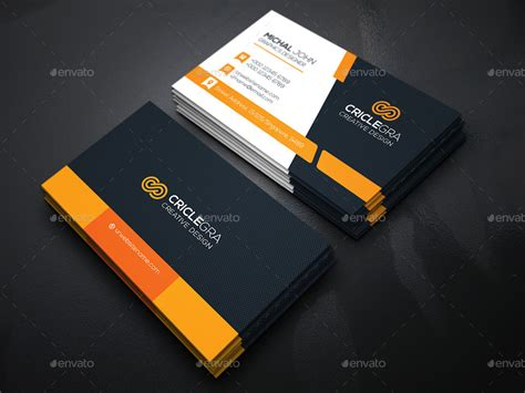 Card Preview by Business Card Bundle 5 In 1 Vol 24 By Generousart