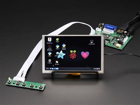 hdmi display hdmi 4 pi 5 display w touch 800x480 hdmi vga ntsc pal