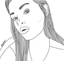 Drawing Outline by Outline Image 2669545 By Miss On Favim
