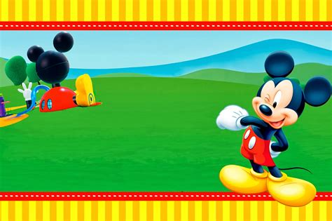 la casa de mickey mouse videos gratis casa de mickey imprimibles e invitaciones para imprimir