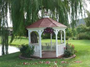 Gazebo Decorations Pictures by Gazebo Wedding Decorations Romantic Decoration