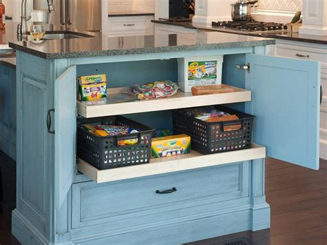 kitchen island storage ideas kitchen storage ideas hgtv