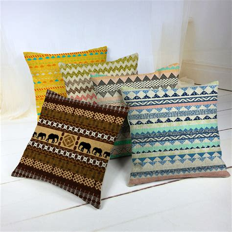 Cheap Accent Pillows by Get Cheap Bohemian Throw Pillows Aliexpress