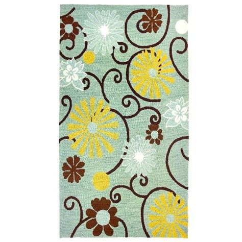 Funky Area Rugs With Daisies Funk This House Funky Bathroom Rugs