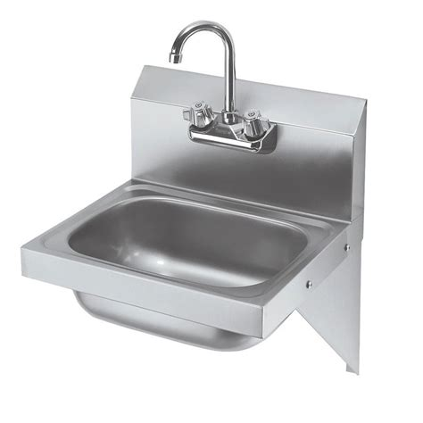 commercial wall mount sink krowne hs 10 wall mount commercial sink w 12 5 quot l x 9