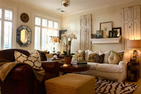 Print Chairs Living Room Design Ideas Vintage Interior Design Part 3 My Decorative