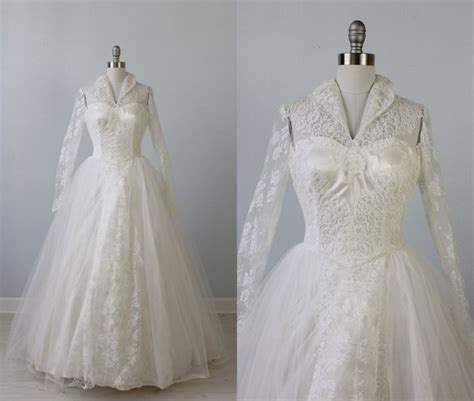 vintage 1950s wedding dresses 20 wedding dresses for 1000 chic