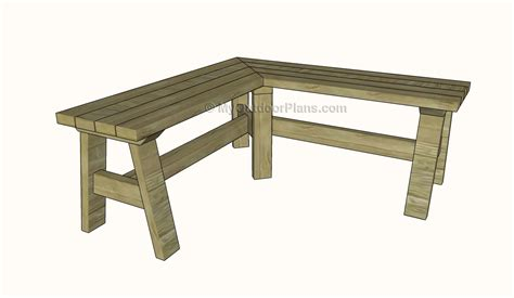 bench designs corner bench plans free outdoor plans diy shed wooden