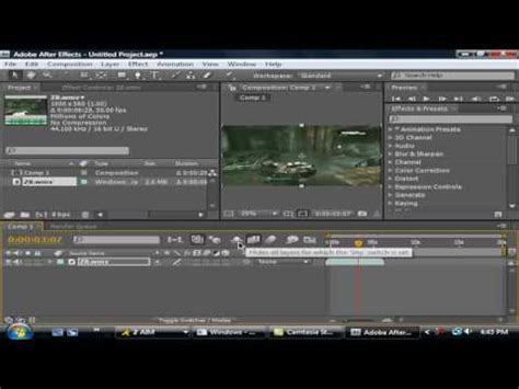 tutorial after effect slow motion adobe after effects slow motion tutorial youtube