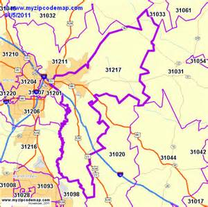 zip code map of 31217 demographic profile residential