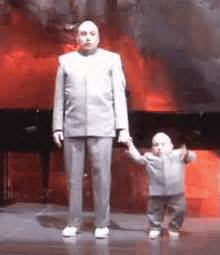 Just The Two Of Us Powers Dr Evil And Minime Gif Drevil