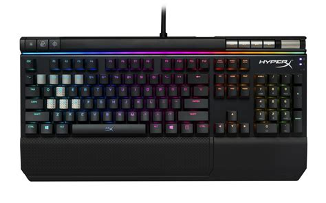 Keyboard Hyperx Hyperx Unveils New Gaming Peripherals At Ces 2018