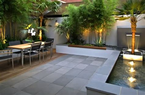 contemporary backyard landscaping ideas dadka modern home decor and space saving furniture for