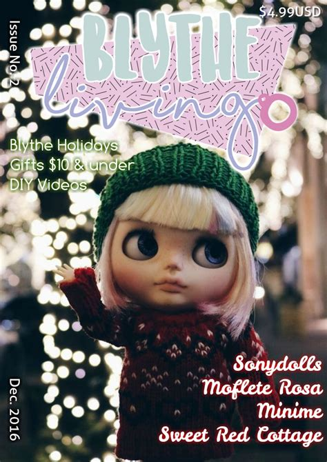 doll reader magazine subscription blythe living magazine issue no 2 joomag newsstand