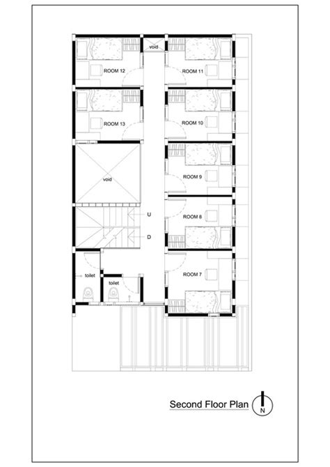boarding house floor plan bioclimatic and biophilic boarding house andyrahman architect archdaily