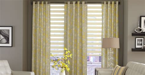 mobile blinds and drapes 3 day blinds offers horizontal sheer shades with drapery