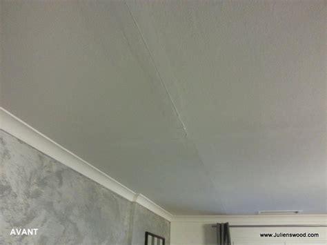Comment Réparer Une Fissure Au Plafond by Fissure Plafond Fissure Au Plafond Et Compromis De Vente