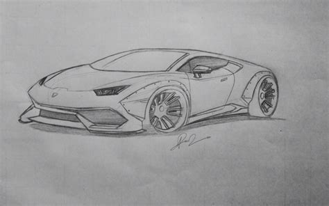 lamborghini huracan sketch lamborghini huracan how to draw how to draw a sports car
