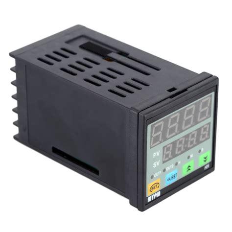 90 260v Ac Dc Preset 4 Digital Counter Length Meter Relay Output 90 260v ac dc digital timer 4 digit display alarm clock countdown time counter chronograph relay