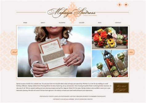 design event website new brand and website for michigan event planner doodle