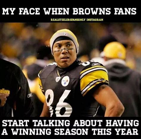 Steelers Fans Memes - 49 best teams vs teams images on pinterest football