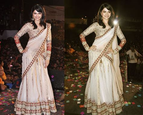 how to drape a lehenga style saree 5 different styles to drape a saree