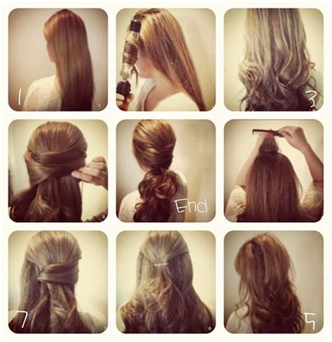 3 easy ways back to hairstyles vpfashion