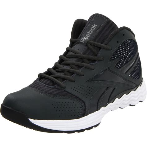 reebok black basketball shoes reebok thermalvibe 1 5 basketball shoe in black for