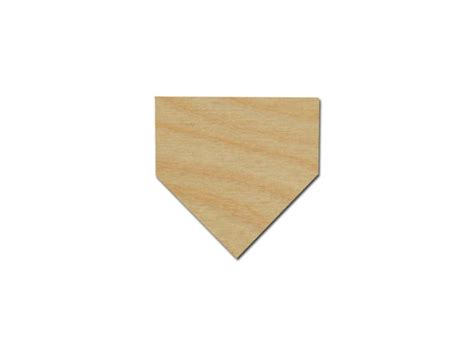 why is home plate in baseball shaped differently than the baseball home plate shape unfinished wood craft cutouts