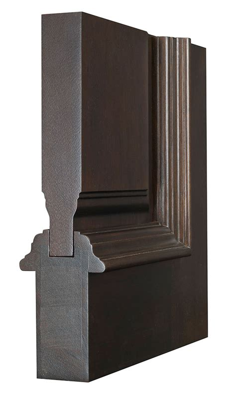 Solid Wood Door Exterior Entry Door In Stock Single With 2 Sidelites Solid Wood With Walnut Finish Frenchcollection