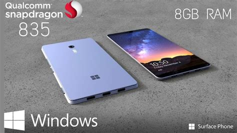 snapdragon mobile phones microsoft surface phone with 8gb ram snapdragons 835
