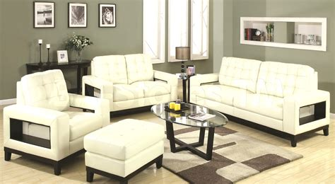 white living room sofa