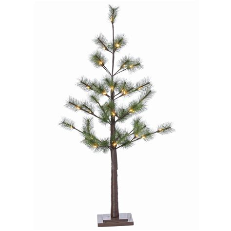 9 ft lighted trees 12 ft pre lit led monterey fir artificial tree