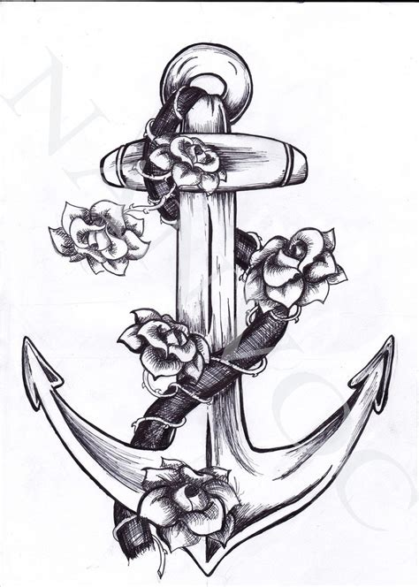 tattoo design anchor auger valve image ก นยายน 2013
