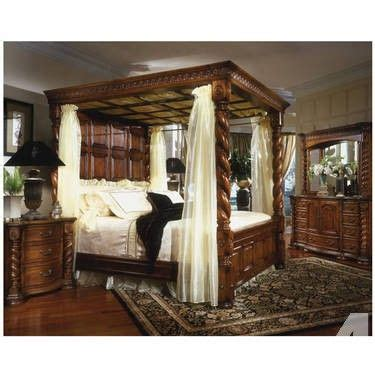 1000 ideas about 4 poster bedroom on