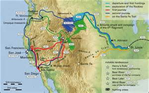 oregon trail interactive map westward expansion interactive map guide thinglink