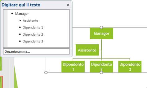 layout organigramma powerpoint creare un organigramma tramite grafica smartart supporto