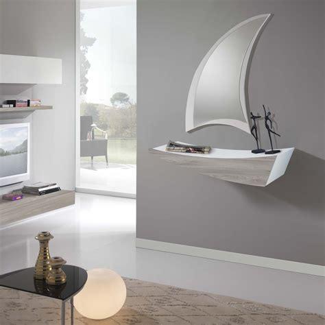 mobile con mensole mobile da ingresso con mensola e cassetto boat idee per